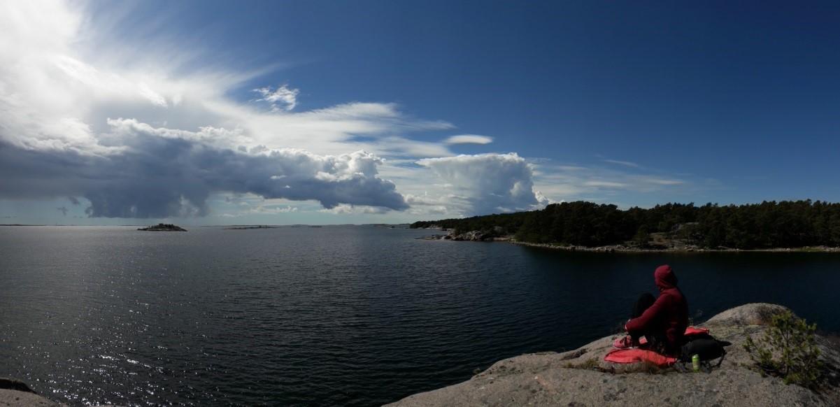 Calm Baltic Sea.