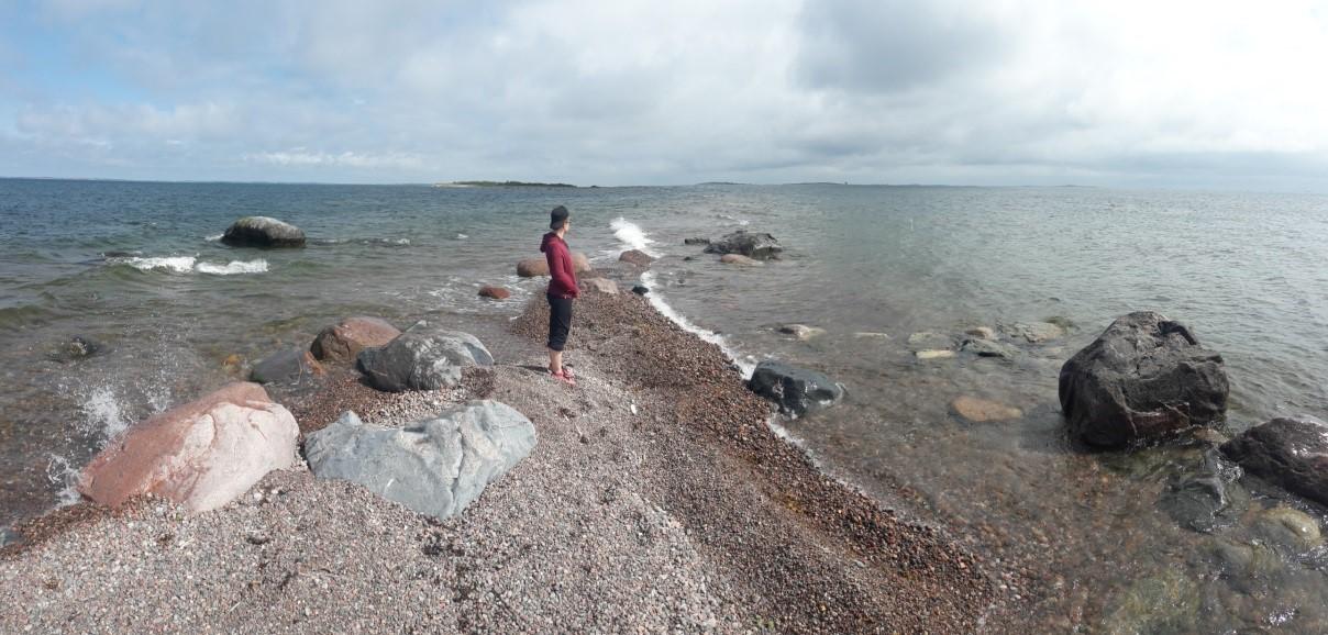 Shore at the Baltic Sea.