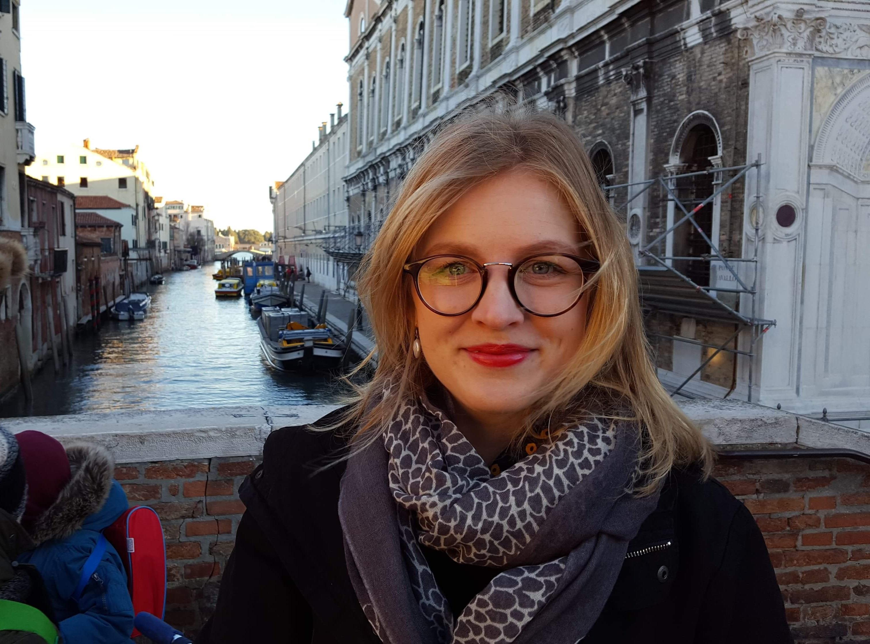 Leena Laamanen in Venice.