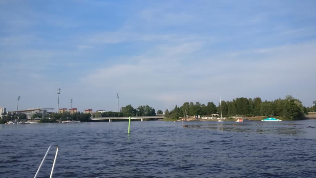 Raatti, Oulu, Finland. Picture taken from the sea.